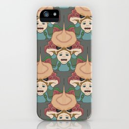 Have You Seen the Size of His Crabs? tessellation iPhone Case