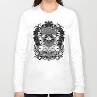 all seeing eye Long Sleeve T-shirts featuring All seeing eye by Tshirt-Factory