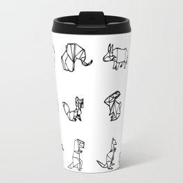 Origami Animal Set Travel Mug