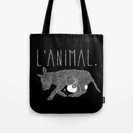 L'Animal. Tote Bag