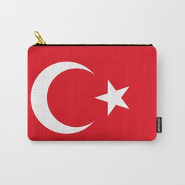 National flag of Turkey, Authentic color & scale Carry-All Pouch