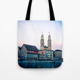 Quiet evening in Zurich Tote Bag