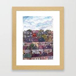 The Burbs Framed Art Print