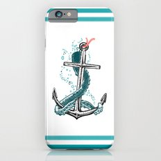 Anchor and Tentacle (Riso edition) Slim Case iPhone 6s