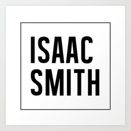 ISAAC SMITH MUSIC Art Print
