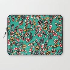 Aqua Koi Laptop Sleeve