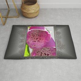 Digitalis named Excelsior Pink Rug