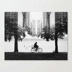 Ride Away Canvas Print