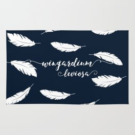 Wingardium Leviosa Rug