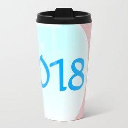 2018 Christmas And New Year Travel Mug