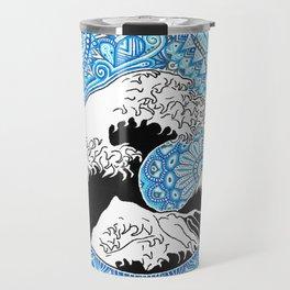 Kanagawa's wave Travel Mug