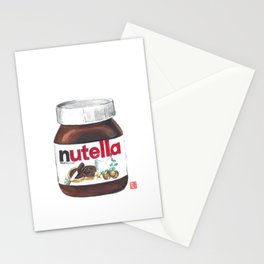 Nuts for Nutella Stationery Cards