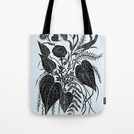 Night Garden Cluster Tote Bag