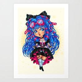 CyberGoth Chibi Art Print