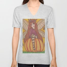 Autumn Fairy Unisex V-Neck