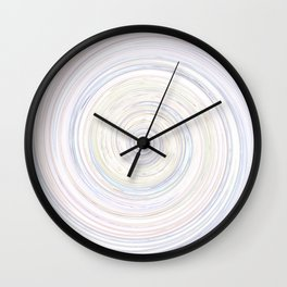 Re-Created Spin Painting No. 31 by Robert S. Lee Wall Clock