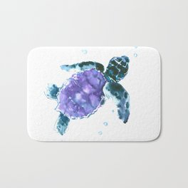 Sea Turtle baby nursery design Bath Mat