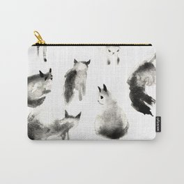 Cats Study Carry-All Pouch