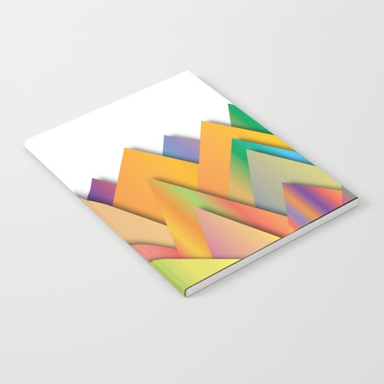 Mountains of Colorcombinations Notebook
