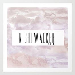 Sky Nightwalker Art Print