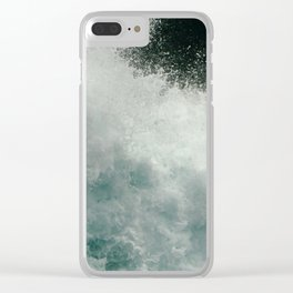 Crossing Cook Strait Clear iPhone Case