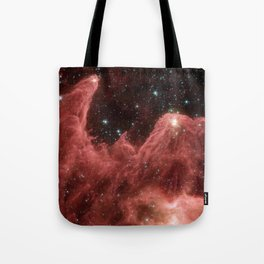 cassiopeia and the raging towers of poseidon | space #06 Tote Bag