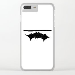 Bat friend Clear iPhone Case