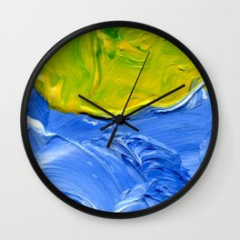 Lapeda Textile Art - 10 Wall Clock
