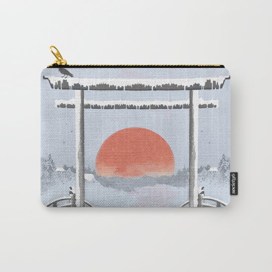 Sundown on the reserve Carry-All Pouch