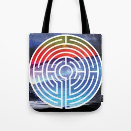 Transformative Labyrinth of Sound Tote Bag