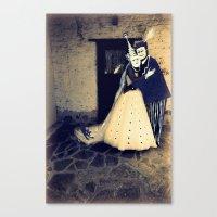 wedding Canvas Prints featuring wedding by Bunny Noir
