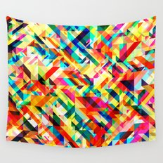 Summertime Geometric Wall Tapestry
