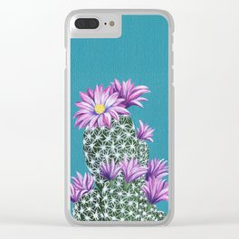 Purple Escobar Clear iPhone Case