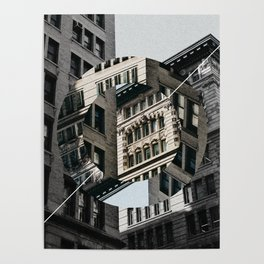 New York City in Focus/Out of Focus Poster