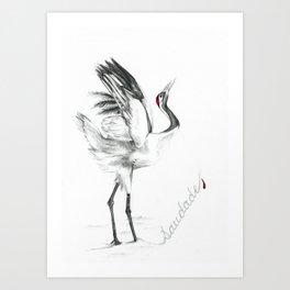 Saudade.1 Art Print