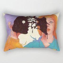 Inner Space Rectangular Pillow