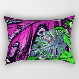 Flamingo Craze Rectangular Pillow