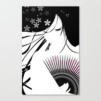 asian Canvas Prints featuring Asian Obsession by DesignDinamique