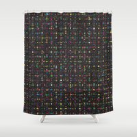 led zeppelin Shower Curtains featuring LED by Simon C Page