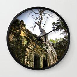Ta Prohm Beauty Wall Clock