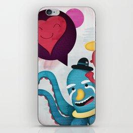 Pushing Love Like Pimps iPhone Skin