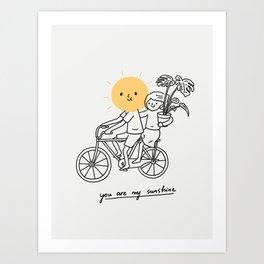 You are my sunshine 2 Kunstdrucke