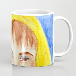 Easter Witch - Watercolor Painting Coffee Mug