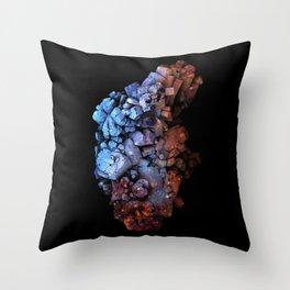 Macro/Micro I: Crystal Allfather Throw Pillow