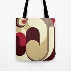 5 Colors Composition (#1) Tote Bag