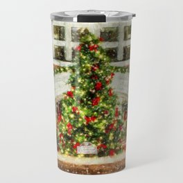 The Town Christmas Tree Travel Mug