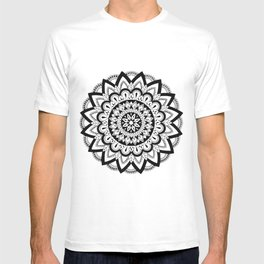 Higher Vibrations Mandala T-shirt