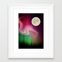 aurora Framed Art Prints featuring Aurora by Angelo Cerantola