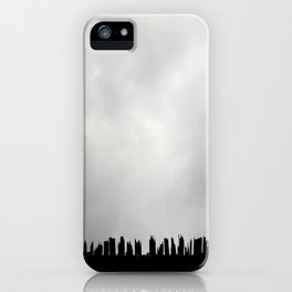 Stabbing at the Sky iPhone Case