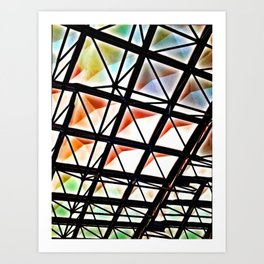Rainbow Ricardo Too - Vivido Series Art Print